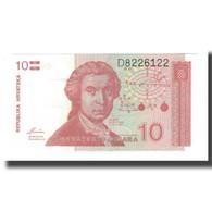 Billet, Croatie, 10 Dinara, 1991, 1991-10-08, KM:18a, NEUF - Croatie