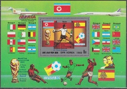 1982Korea, NorthA2254/B118 Overprint -  # 2254/B118 15,00 € - Copa Mundial