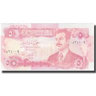Billet, Iraq, 5 Dinars, KM:80c, NEUF - Iraq