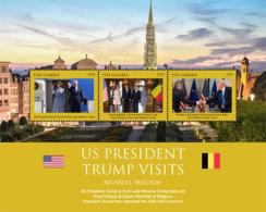 Gambia 2018 U.S. PRESIDENT TRUMP VISITS Belgium   I201901 - Gambia (1965-...)
