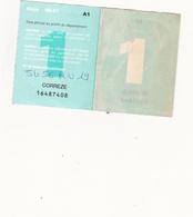 Vignette Automobile Jamais Posée 2000/2001 - Vieux Papiers