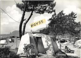 Lazio-latina-fondi Salto Di Fondi Frazione Di Fondi Camping Settebello Animatissima Veduta Interno Camping Anni 50/60 - Italia