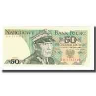 Billet, Pologne, 50 Zlotych, 1988, 1988-12-01, KM:142c, NEUF - Pologne