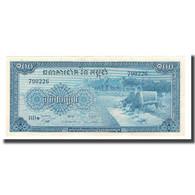 Billet, Cambodge, 100 Riels, Undated (1956-72), KM:13b, NEUF - Cambodia