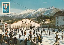 Isère : VILLARD-de-LANS : Xé Jeux Olympiques  D'hiver 1968 - La Patinoire - ( C.p.s.m.  - Grand Format ) - Villard-de-Lans