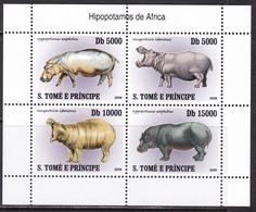 Sao Tome And Principe, Fauna, Animals MNH / 2007 - Stamps