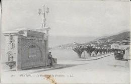 MENTON: La Frontière ( F.M. ) - Menton