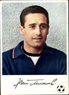 Cp Fußballspieler Hans Tilkowski, Borussia Dortmund, Fußballer Des Jahres 1965, Reklame Knorr - Cartoline