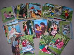 Lot De 119 Cpsm Avec Des Couples Couple Amoureux Femme Homme Kitsch Romantique Bon Etat - 100 - 499 Karten