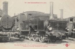 LOCOMOTIVE  ( PLM ) Machine Tender N° 5734 à 3 Essieux Accouplés ...... - Trains
