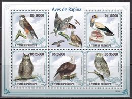 Sao Tome And Principe, Fauna, Birds Of Prey MNH / 2009 - Arends & Roofvogels