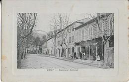 DRAP : Boulevard National Animé Commerces (1914) - Autres Communes