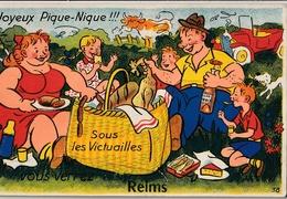 REIMS- Carte à Système ( Dépliant Mini Vues ) - Reims