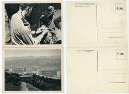 ALGERIE CPFM X 2 1962 AFN CARTE DE FRANCHISE MILITAIRE GUERRE D'ALGERIE - 1961-....