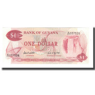 Billet, Guyana, 1 Dollar, Undated (1966-92), KM:21f, NEUF - Guyana