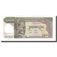 Billet, Cambodge, 100 Riels, Undated (1957-75), KM:8c, NEUF - Cambodia