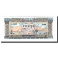Billet, Cambodge, 50 Riels, UNDATED (1956-75), KM:7b, NEUF - Cambodia