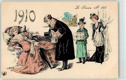 53028162 - Sign. Robertz 1910 Frau Erotik - New Year