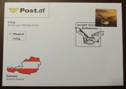 Brief Österreich   2007   Bartfledermaus #cover 4829 - 1945-.... 2. Republik