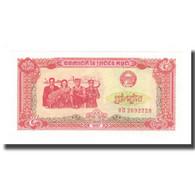 Billet, Cambodge, 5 Riels, 1987, 1987, KM:33, NEUF - Cambodia