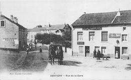 "¤¤  -   XERTIGNY   -  Rue De La Gare  -  Bureau Des Omnibus  -  Cordonnier "" DUG ""    -  ¤¤ - Xertigny"