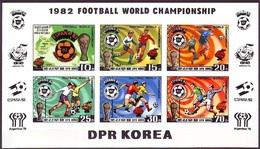 1981Korea, North2099-2104KLb1982 World Championship On Football Of Spain36,00 € - 1982 – Espagne