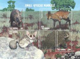 Gambia 2018  Fauna Mongoose ,bushbaby   I201901 - Gambia (1965-...)