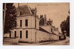 - CPA RIBÉRAC (24) - Ecole Des Filles 1926 - Edition Berger-Dubreuil - - Riberac