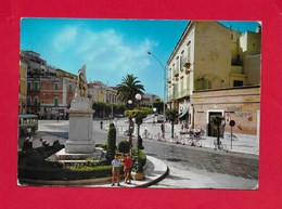 CARTOLINA VG ITALIA - CORATO (BA) - Corso Mazzini - Monumento A Giuseppe Garibaldi - 10 X 15 - ANN. 1972 - Bari
