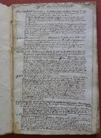 """Manuscrit """"L'esprit Des Journaux"""" 1780-83 - 1701-1800"""