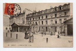 - CPA BREST (29) - L'Hôtel De Ville 1912 (belle Animation) - Editions Lévy N° 69 - - Brest