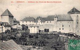 B57212 Cpa Annecy - Château Des Ducs De Savoie Nemours - Annecy