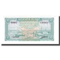 Billet, Cambodge, 1 Riel, UNDATED (1956-75), Undated (1956-1975), KM:4c, NEUF - Cambodia