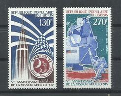 BENIN YVERT  AEREO  258/59    MNH  ** - Benin – Dahomey (1960-...)