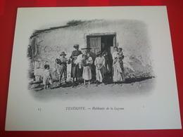 TENERIFE HABITANTS DE LA LAGUNA - Tenerife