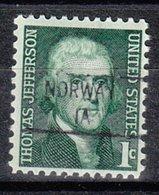 USA Precancel Vorausentwertung Preo, Locals Iowa, Norway 841 - Vereinigte Staaten