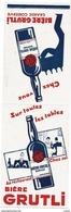 Carte Publicité -  LES MOULINEAUX  - LA BIERE GRUTLI -  CHEZ VOUS - Publicidad