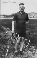 CYCLISME Gabriel POULAIN Coureur Cycliste Pisteur Né à SAINT-HELIER En 1884 CHAMPION DU MONDE EN  1905 TRES BON ETAT - Radsport