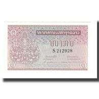 Billet, Lao, 1 Kip, Undated (1962), KM:8a, NEUF - Laos