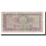 Billet, Roumanie, 10 Lei, 1966, KM:94a, B - Roumanie