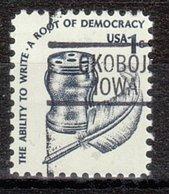 USA Precancel Vorausentwertung Preo, Locals Iowa, Okoboji 812 - Vereinigte Staaten