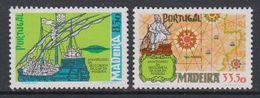 Madeira 1981 Discovery 2v ** Mnh (43219) - Madeira