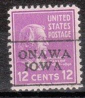 USA Precancel Vorausentwertung Preo, Locals Iowa, Onawa 701 - Vereinigte Staaten