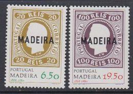 Madeira 1980 Postal Independance 2v  ** Mnh (43229E) - Madeira