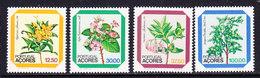 Azores 1983 Flowers 4v ** Mnh (43219F) - Azoren