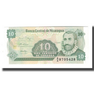 Billet, Nicaragua, 10 Centavos, Undated (1991), Undated (1991), KM:169a, NEUF - Nicaragua