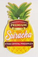 Fruit Label Pineapple Thailand - Fruits & Vegetables
