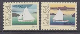 Azores 1985 Ships 2v ** Mnh (43219H) - Azoren