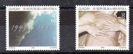 Serie De Croacia N ºYvert 285/86 ** - Croacia