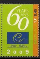 2009 Slowenien  Mi. 1706 **MNH  60 Years Ans Conseil De L'Europe - Europäischer Gedanke